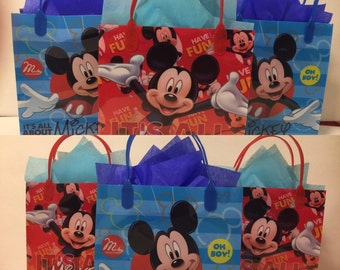 Mickey Mouse personalized party bags! 12