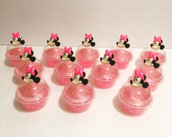 Minnie ring cupcake topper 12