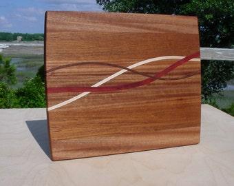 Curved-Thru-Inlays...Cutting Board