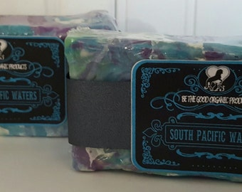 All Natural Handmade Soap -- South Pacific Waters Soap