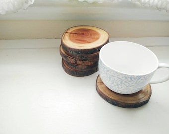 Wooden Branch Coaster | Set of Six