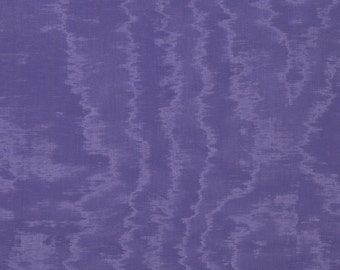 SCALAMANDRE CANTON Blue Watermark MOIRE Fabric 10 Yards