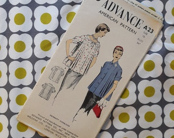 Advance American Pattern - Maternity Overblouse