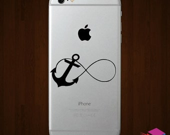 Infinity Anchor iPhone Vinyl Decal
