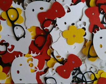 Hello Kitty Confetti with Nerd Glasses