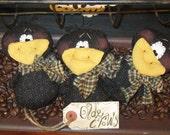 Crow Bowl Fillers - Fall Decoration - Autumn Decoration -Crow Decoration