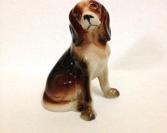 Cute vintage ceramic dog - Made in Japan
