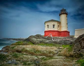 Coquille Lighthouse Bandon Oregon