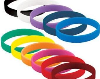 Silicone wristbands * Rubber bracelets * Rubber wristbands * Silicone wristband * silicone band * silicone bracelet * Friendship bracelet