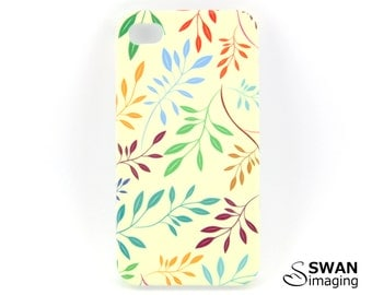 Coloured Leaves iPhone Case ~ iPhone 4 - iPhone 4S