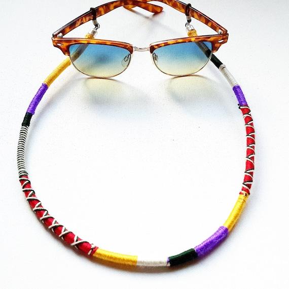 hippie schmuck brillen kette brillenhalter brillengestell. Black Bedroom Furniture Sets. Home Design Ideas