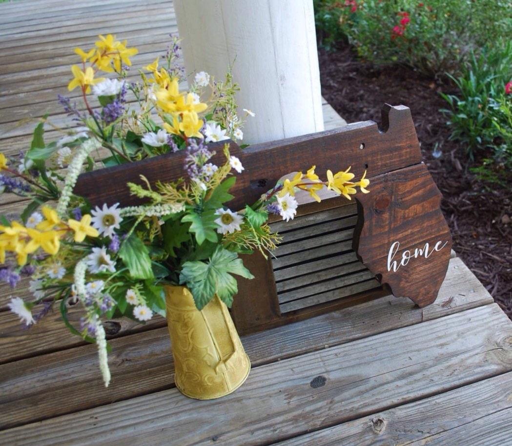 Florida Pallet Wood Cut-out. Pallet Sign Decorations Wooden