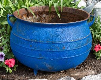Large antique cast iron cauldron farmhouse antiques - Antique exchange home design baltimore md ...