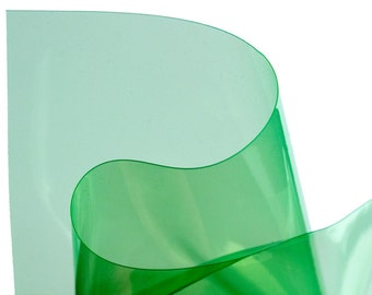 Neon Green transparent vinyl