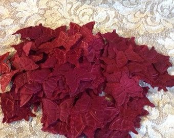 1,000 Crimson Butterfly Petals - Free Shipping USA