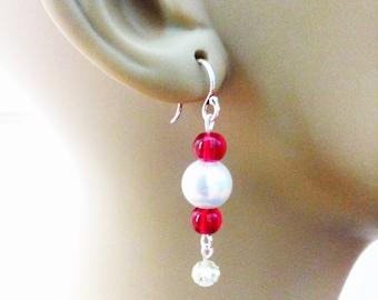Glass Beaded Earring
