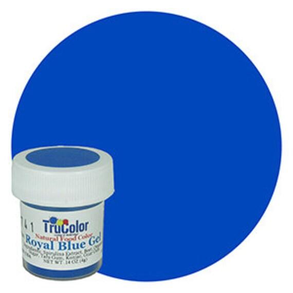 NEW BIGGER BOTTLE Royal Blue TruColor Natural Food Color