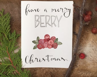 Have a merry BERRY Christmas