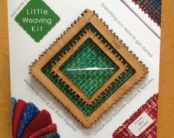 2 Square Weaving Loom Frames (just like a pin loom but with no pins :)