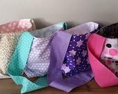 Doll Diaper Bags, Play purses, Reversible
