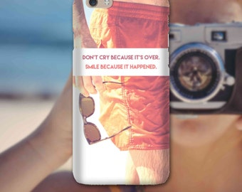 Snap Phone Case for Apple iPhone 6 Live By These Dont Cry iPersonalised