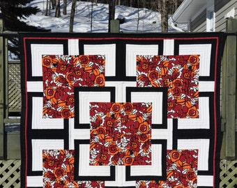 Bold Floral Quilt