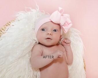 CUSTOM NEWBORN PHOTO Photoshop Editing