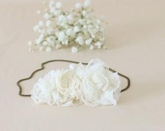 Accessory hair married / wreath / headband / wedding - model Anna