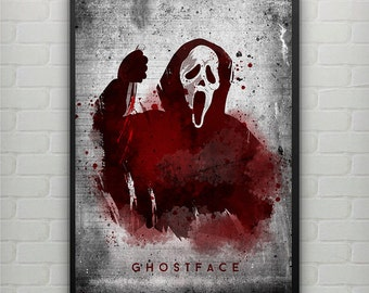 Ghost Face - from Horror movie Scream