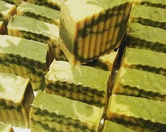 Lemongrass Patchouli Soap/Organic Soap/Essential Oil Soap/Natural/Olive Oil Soap/Handmade Soap/Deodorizing Bar/Vegan/Cold Process Soap/Gift