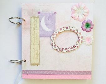 Mini album, pink mini album