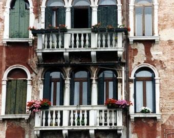 "Italy Photography, ""Grand Canal Venice"" Print, Venice Wall Art, Italy Note Cards, Venice Architecture, Travel Wall Art, Travel Note Cards"