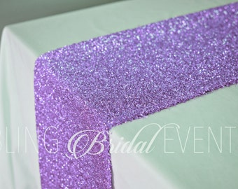 Purple Sparkly Table Runner SALE! (Set of 4)