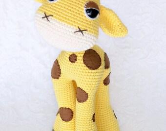 Custom Crochet Giraffe