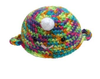 Crochet Narwhal, amigurumi narwhal, narwhal plush, narwhal toy, unicorn of the sea, sea creature, ocean animal, aquatic animal