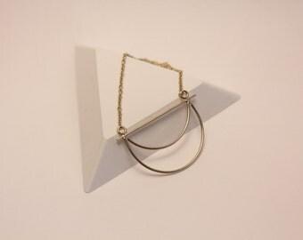 Necklace Eyota Stanka mila Golden brass