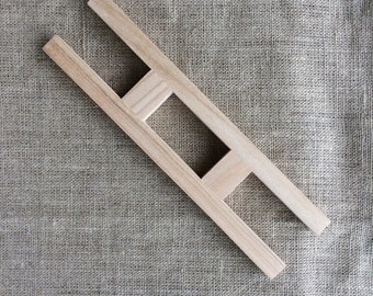 cloth beam for tablet weaving - Old Believers inspired