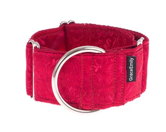 1,5 inch Martingale collar, 1,5  inch,  martingale dog collar, greyhound collar, martingale collar,collars,dogs collars,martingales