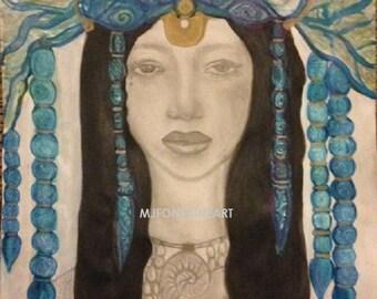 Yemenja Art Print