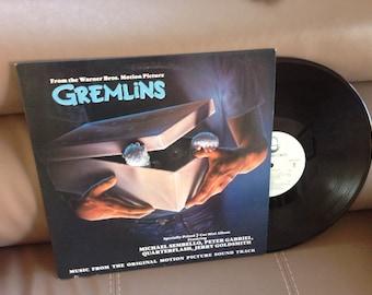 Gremlins Movie Soundtrack LP Vinyl Record, Great Condition
