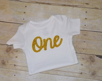 First Birthday Onesie, One Onesie, 1st  birthday onesie.