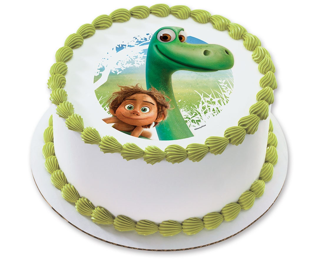 Good Dinosaur Cake Design : The Good Dinosaur Arlo & Spot Cake Edible Image Decoration
