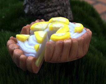 lemon meringue in polymer clay