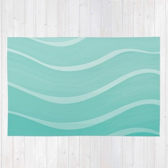 Teppich MeerTeppich OzeanTeppich von WildWatercolours