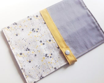 Protects health book yellow mustard and gray
