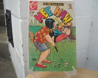 Hee Haw Charlton Comic book #6 June 1971