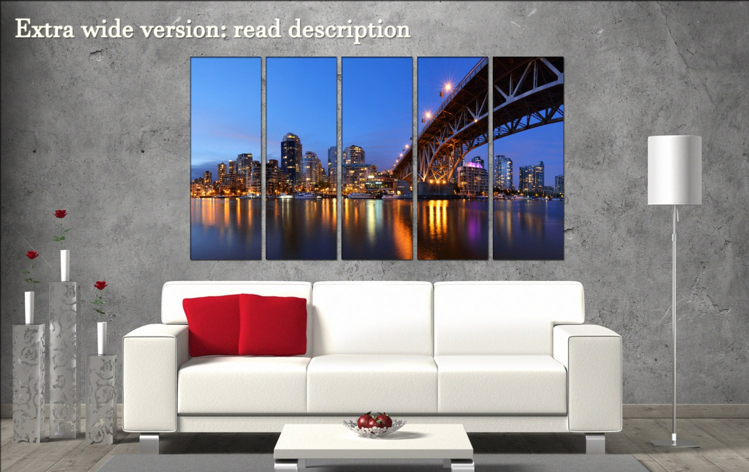 Granville Vancouver Canvas Wall Decoration