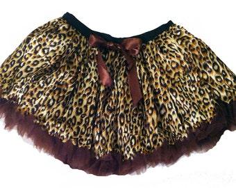Halloween Tutu Leopard Tutu for Women