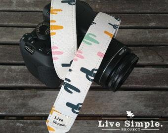 Correa para cámara Arizona | DSLR Camera Strap | Accessories | Soft Cotton | Live Simple®