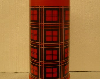 Aladin Best-Buy Wide Mouth Thermos, Plaid